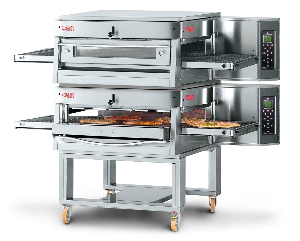 Forni per pizze al taglio